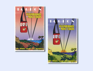 Cartes postales déco